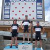 john ben and benny top of the alpe big cols training week 1